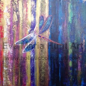 Into The Light, Dragonfly by Eva Maria Hunt