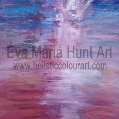 Life Force, Acrylics by Eva Maria Hunt