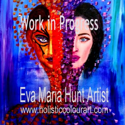 Woman: Fierce and Gentle by Eva Maria Hunt