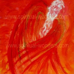 Angel of Passion - Sacral by Eva Maria Hunt