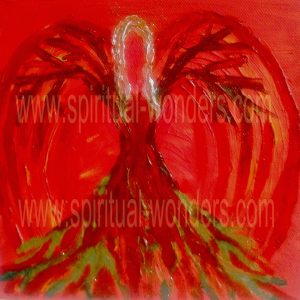 Angel of Safety - Root Chakra by Eva Maria Hunt