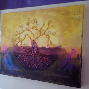 Citrine Tree by Eva Maria Hunt