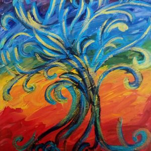 Tree of Creativity by Eva Maria Hunt