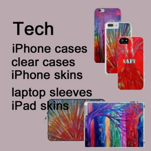 iPhone iPad laptop cases by Eva Maria Hunt