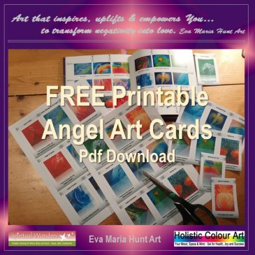 Transform Your Life with Colours and Angel Art