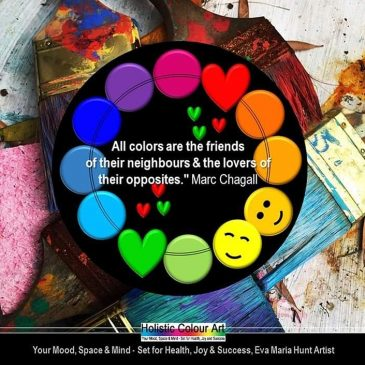 Exploring Colours through Quotes from Famous Artists #1